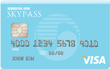 SkyBlue Skypass Visa Card