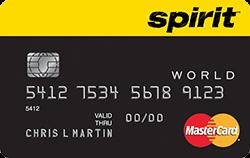 Spirit Airlines World MasterCard