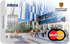 The University of Calgary Alumni MBNA Rewards MasterCard