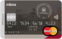 The University of Ottawa Alumni MBNA Rewards MasterCard