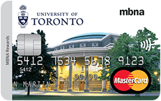 The University of Toronto Alumni MBNA Rewards MasterCard