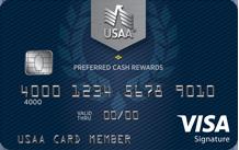 USAA Preferred Cash Rewards Visa Signature®