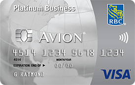 RBC Visa Business Platinum Avion