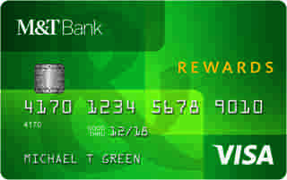 M&T Visa Credit Card with Rewards