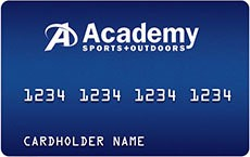 Academy Sports + Outdoors Credit card