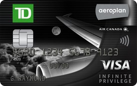 TD® Aeroplan® Visa Infinite Privilege Card