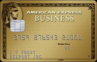 American Express® Business Gold Rewards Card