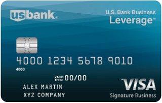 U.S. Bank Business Leverage Visa Signature®