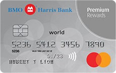 BMO Harris Bank Premium Rewards Mastercard®