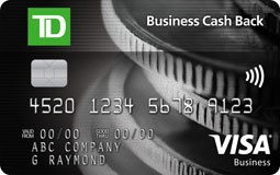 TD Business Cash Back Visa Card