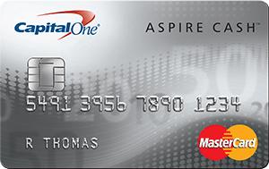 Capital One® Aspire Cash™ Platinum Mastercard®