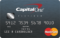 Platinum Credit Card from Capital One®