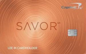 Savor® Rewards from Capital One®