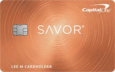 Savor® Rewards from Capital One®