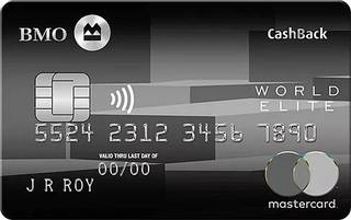 BMO® CashBack® World Elite® Mastercard®