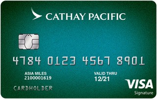 Cathay Pacific Visa Signature® card