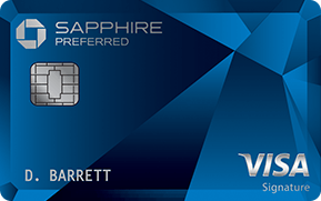 Chase Sapphire Preferred® credit card