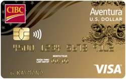 CIBC U.S. Dollar Aventura® Gold Visa Card
