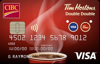CIBC Tim Hortons® Double Double® Visa Card