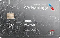 Citi® / AAdvantage® Platinum Select® World Elite™ Mastercard®