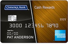 Comerica Cash Rewards American Express® Card