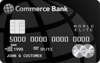 Commerce Bank World Elite Mastercard®