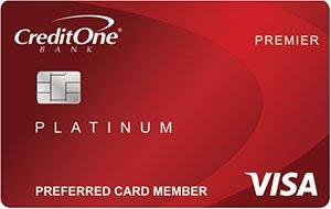 Credit One Bank Platinum Premier Visa