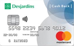 Desjardins Cash Back Mastercard