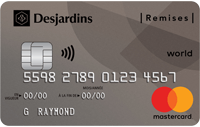 Desjardins Cash Back World Mastercard