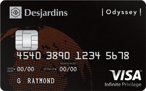 Desjardins Odyssey Visa Infinite Privilege