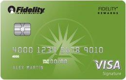 Fidelity® Rewards Visa Signature® Card