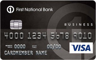 First National Bank of Omaha Business Edition® Secured® Visa Card
