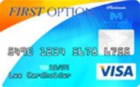 First Option Bank Visa® Platinum Credit Card