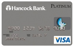 Hancock and Whitney Bank Platinum Rewards Credit Card