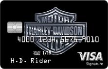 Harley-Davidson® Visa Signature® card