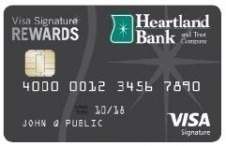Heartland Bank Visa Signature Rewards