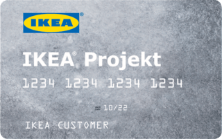 IKEA Projekt credit card