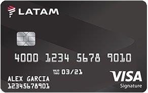 LATAM Visa Signature® Card