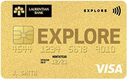 Laurentian Bank Visa Explore