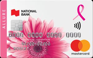 National Bank Allure Mastercard