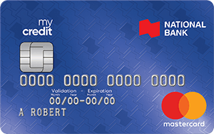 National Bank mycredit Mastercard