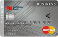 National Bank Platinum Mastercard Business Card