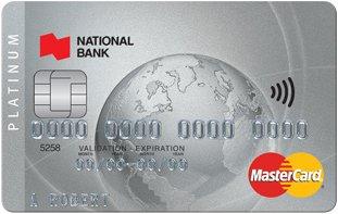 National Bank Platinum Mastercard