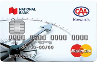 National Bank CAA Rewards Mastercard