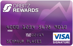 Orbitz Rewards Visa Card
