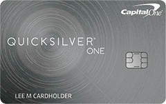 QuicksilverOne® from Capital One®