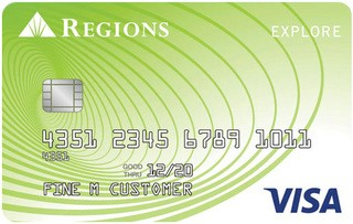 Regions Explore Visa® Credit Card