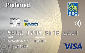 RBC Rewards Visa Preferred