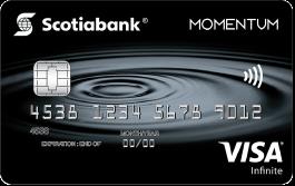 Scotia Momentum® Visa Infinite Card