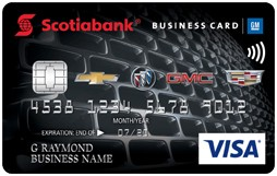 Scotiabank® GM® Visa Business Card